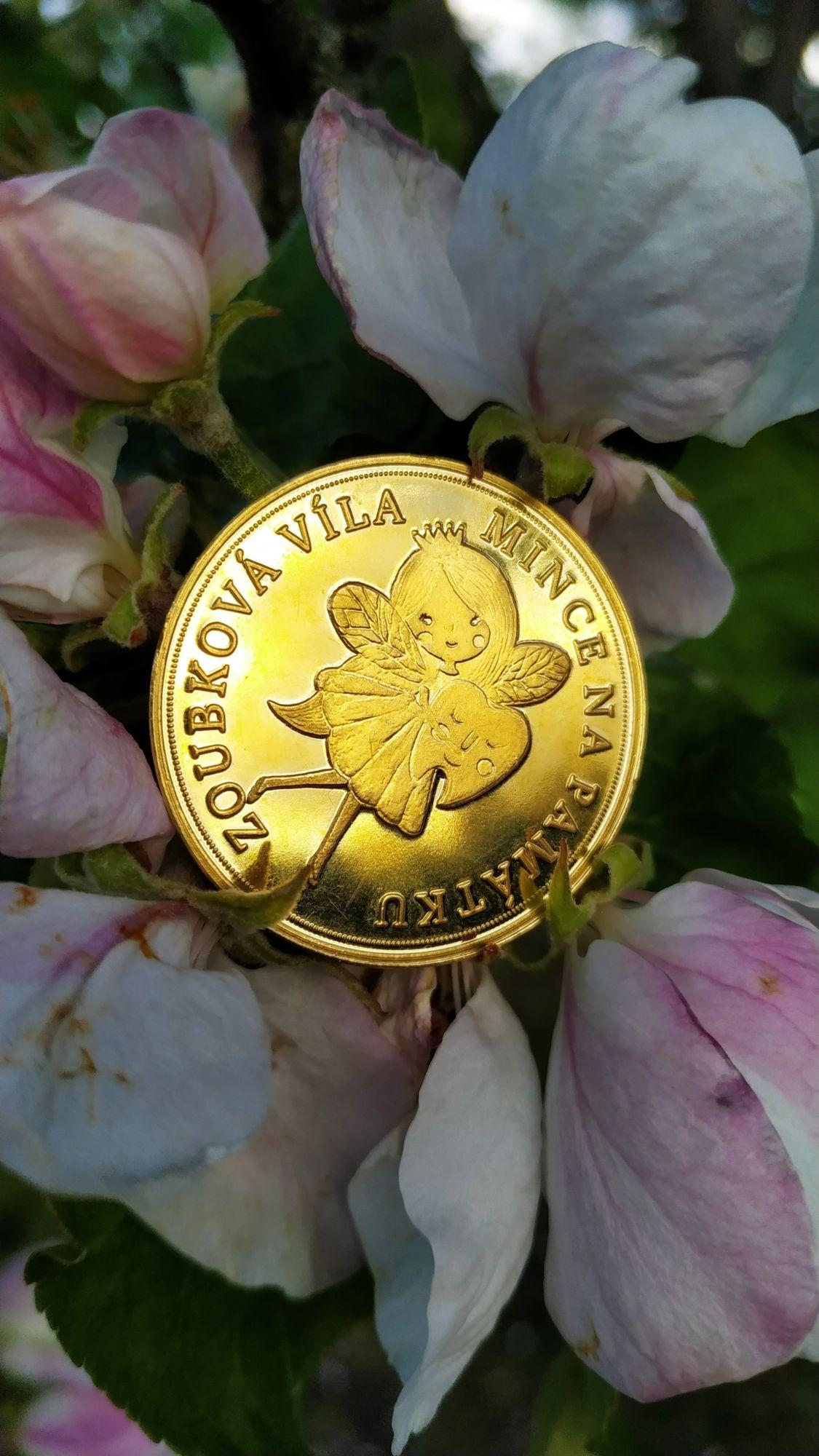 Zoubková víla mince napamátku